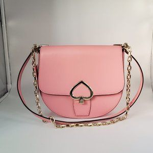 Kate Spade Robyn Medium Chain Saddle Bag Pink